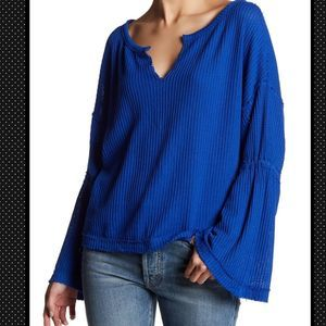 🆕Free People Dahlia Thermal Knit Sweater